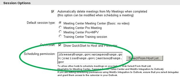 Archive - Set Up Alternate Hosts for Webex Meetings (   for