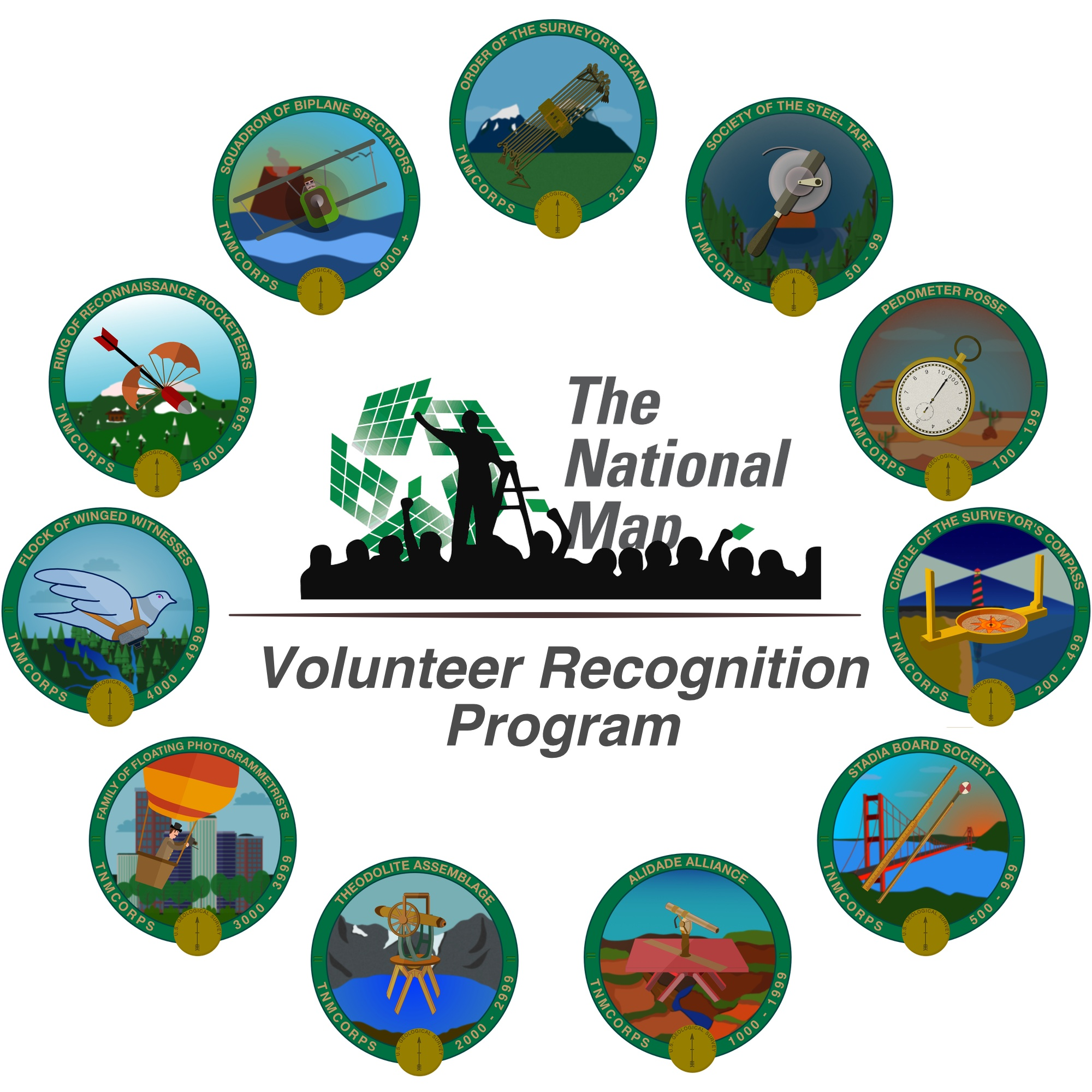 Volunteer Recognition Badges