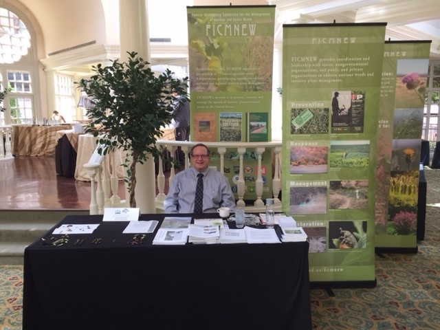 NIFA and FICMNEW booth, Bob Nowierski attending. Fairmont 8th Annual Sustainability Fair