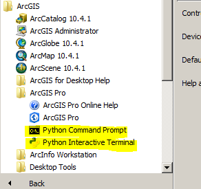 Notes on Conda and pip in ArcGIS Pro - USGS OEI/Enterprise