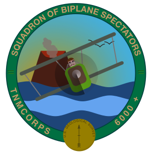 Squadron of Biplane Spectators Recognition Badge