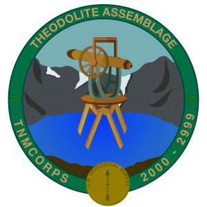 Theodolite Assemblage Recognition Badge